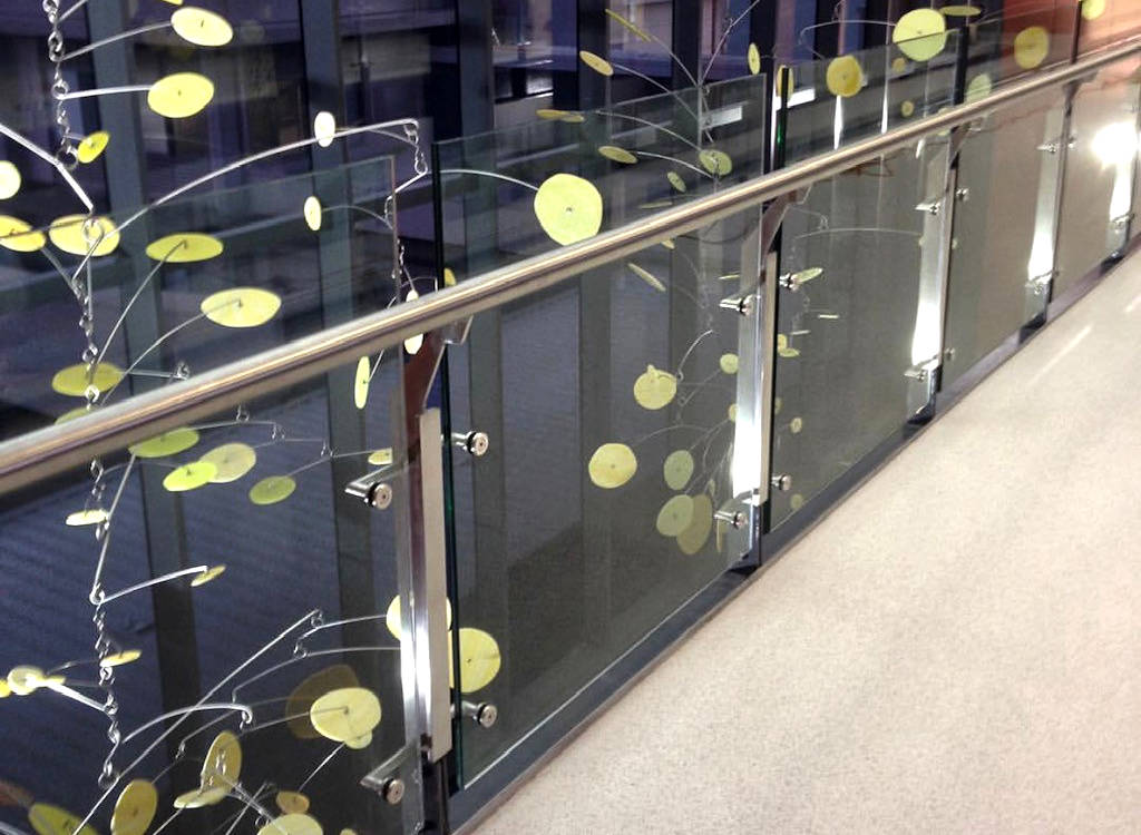 Steal Balustrading and Glass